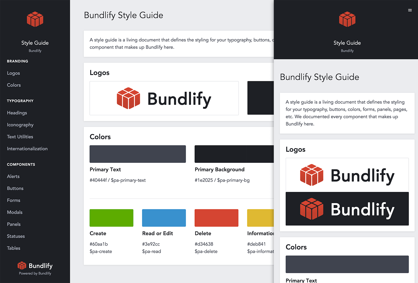 Creating a Design System for our SaaS App and Company · Bundlify